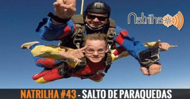 Salto de paraquedas - Episódio 43