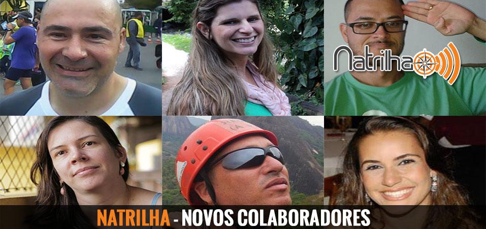 Novos integrantes da equipe NaTrilha