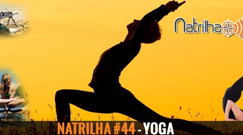 Yoga - Capa ilustrativa do programa 44 do NaTrilha