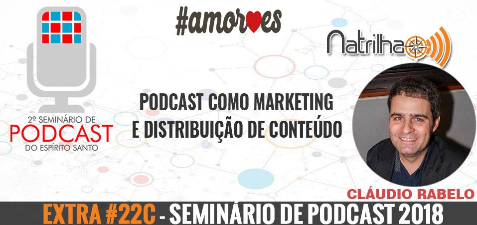 Extra #22c – Seminário de Podcast | Podcast como Marketing e Distribuição de Conteúdo